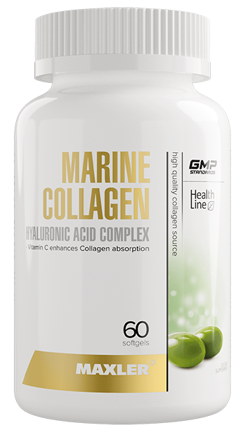 Maxler Marine Collagen Hyaluronic Acid Complex (60 капс)